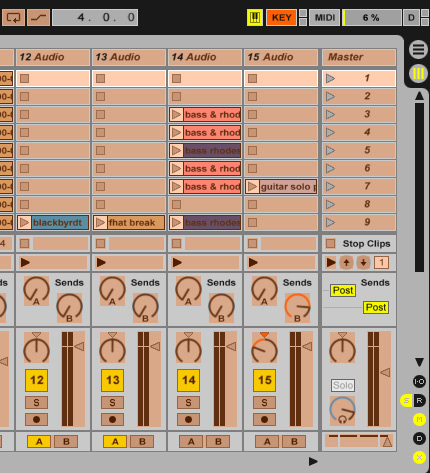 how to delete automation from track ableton