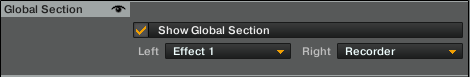 Traktor Global Section