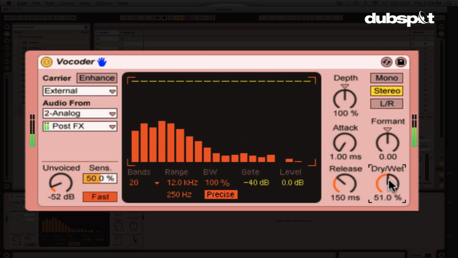 Ableton Live Video Tutorial: Vocal Processing Effects + Live