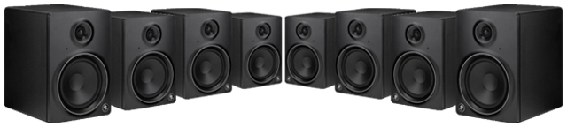 speakers vs studio monitors