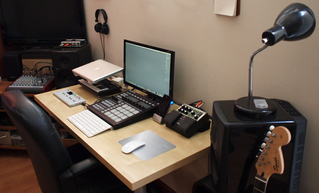 Cool How To Build A Home Studio Electronic Music Production Setup For Largest Home Design Picture Inspirations Pitcheantrous
