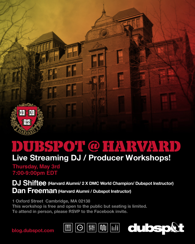 Dubspot @ Harvard - DJ / Producer Workshop Recap Video w/ DJ