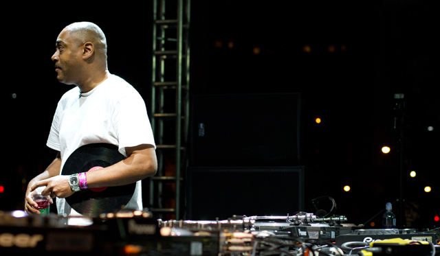Mike Huckaby at Movement Festival 2012