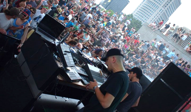 Tiger and Woods at Movement Festival 2012
