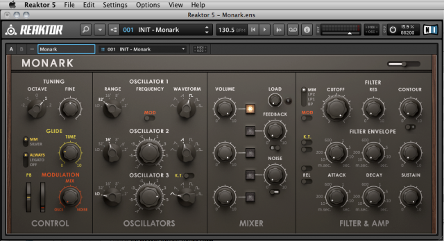 MONARK: New Virtual Analog Synth from Native Instruments