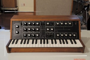 The 2nd revision of the Minimoog, Model B