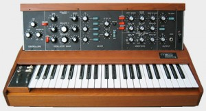 And the final result, the Minimoog Model D