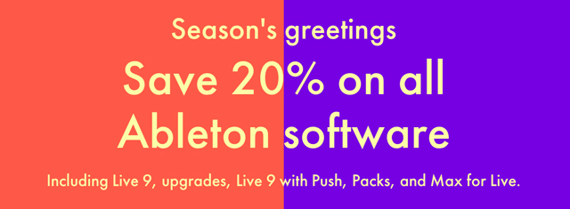 Ableton Sale