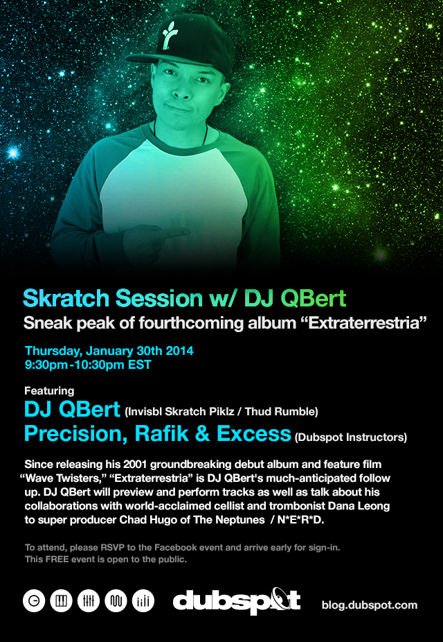 DJ QBert - NYC DJ User Group