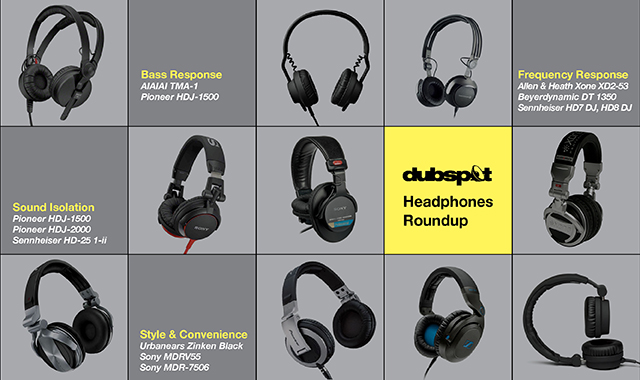 10 Best DJ Headphones 2014 From Dubspot