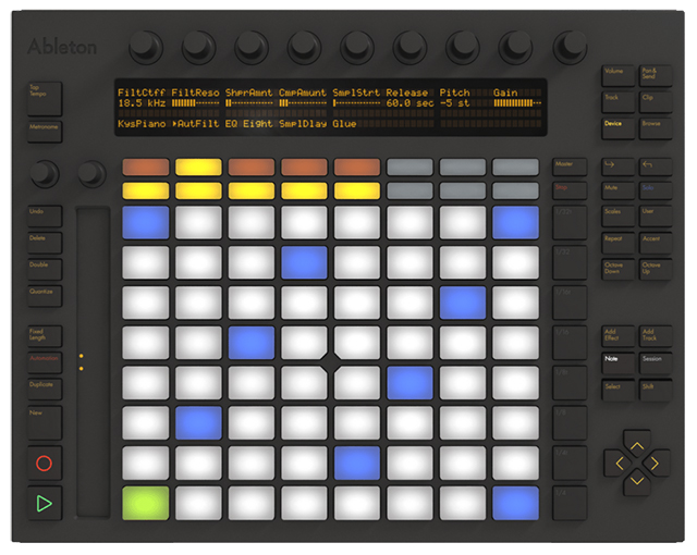 Ableton Push - Mutant Synth Pack, Clyphx 2, Push CCs, PXT Live, PXT-General