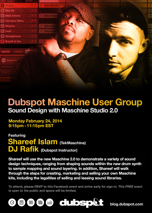 Dubspot Maschine User Group Feb 2014