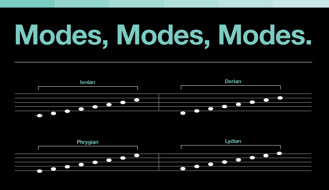 Music Theory Modes Modes Modeswhat Are They Good For Dubspot