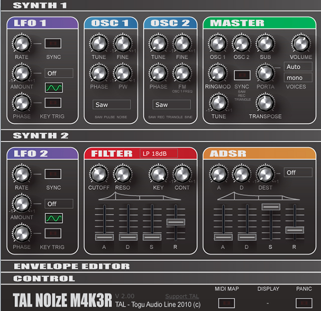 Free VST Roundup: TAL-Noisemaker, Frohmage, CamelCrusher, Dub Siren