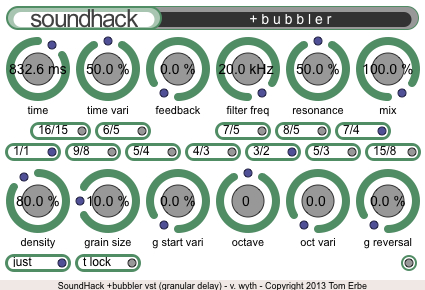 Soundhack Delay Trio