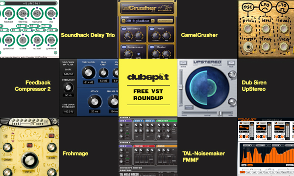 Free VST Roundup: TAL-Noisemaker, Frohmage, CamelCrusher, Dub Siren, UpStereo, and More!