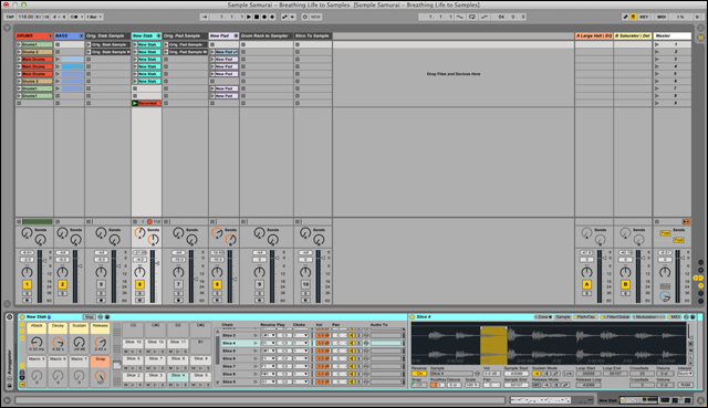 how to start new project ableton