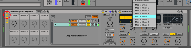 Ableton Live Tutorial - Rhythmic Stereo Beat Repeat Rack w