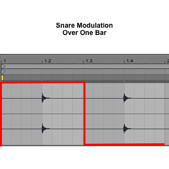 Snare-Pitch-Frequency-Shifter