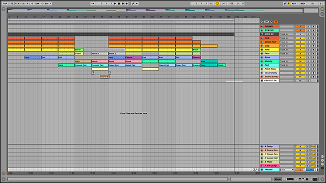 Ableton Live Tutorial: Sound Design using Freeze Functions