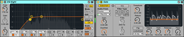 Melody EQ and Gate