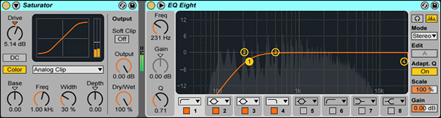 Pad Saturator and EQ