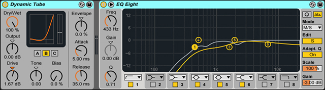Vocal Saturator and EQ