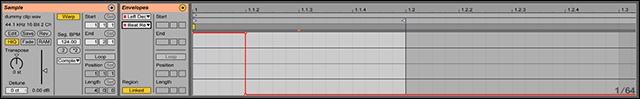 Beat Repeat Clip Automation