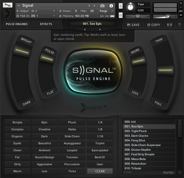 SIGNAL by Output: Expressive Pulse Engine Instrument Review