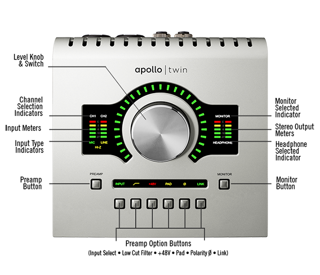 gear review universal audio apollo twin interface dubspot. Black Bedroom Furniture Sets. Home Design Ideas