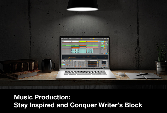 Music Production: Stay Inspired and Conquer Writer's Block w/ Daniel Salvaggio