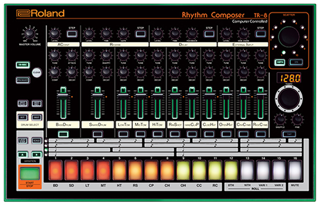Celebrate 808 Day w/ Roland and Dubspot + TR-8 Giveaway