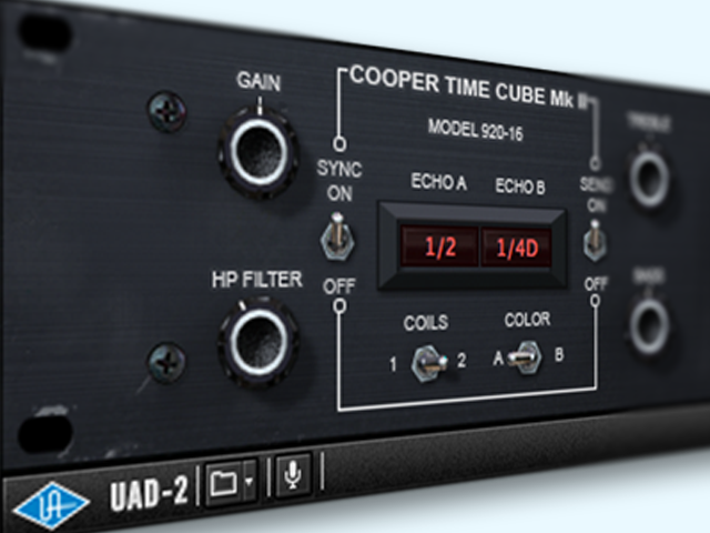 Plugin Spotlight: Cooper Time Cube MkII by UAD | Dubspot