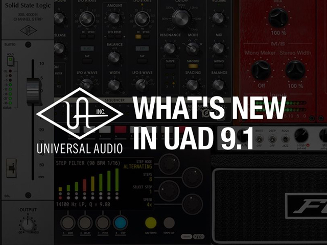 Universal Audio Releases UAD v9 1 + New Plugins | Dubspot